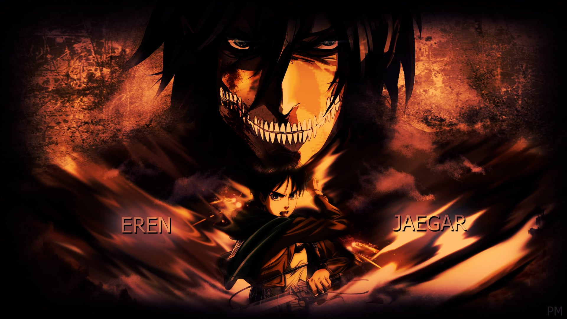 17 eren yeager attack on titan wallpapers hd download