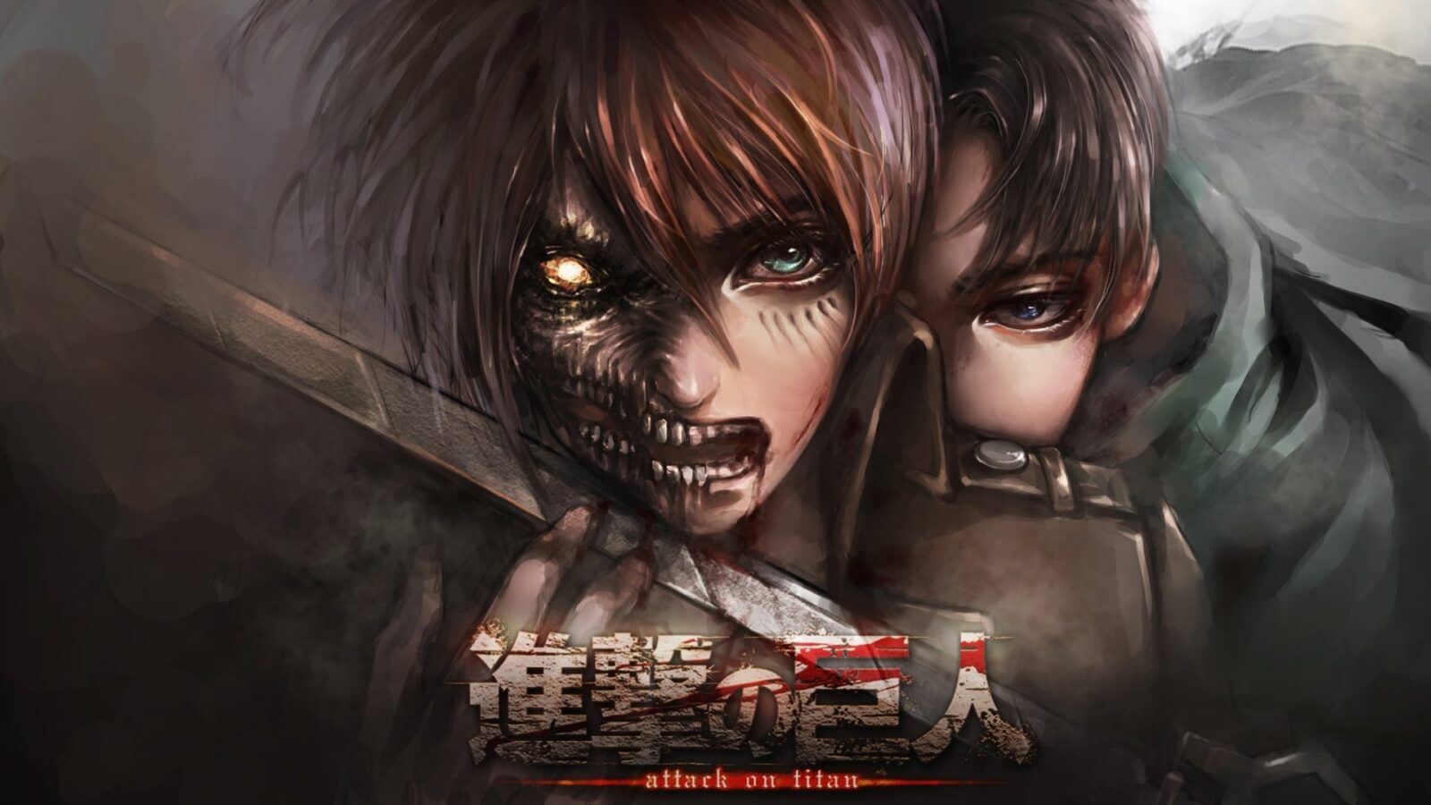 Attack On Titan Eren Yeager HD for desktop