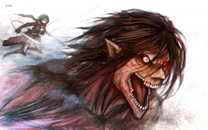 wallpaper of Attack On Titan Eren Yeager art