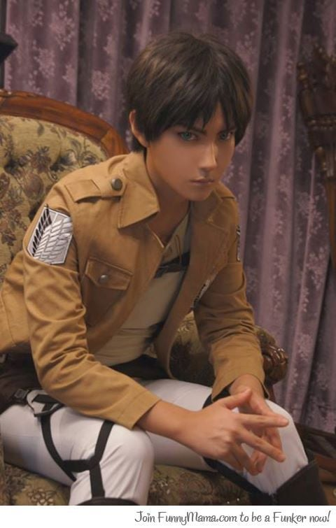 Attack On Titan Eren Yeager cosplay HD pic