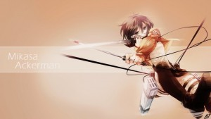 Attack On Titan Mikasa Ackerman free download