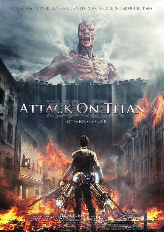 Attack On Titan poster for iPhone