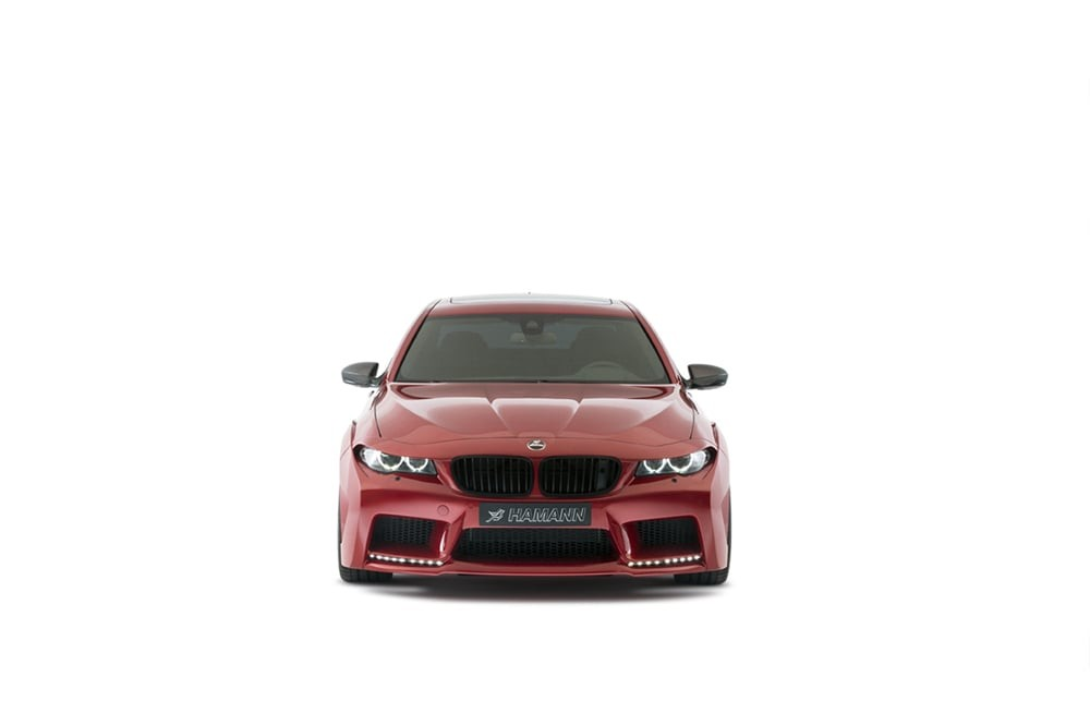 Full HD pics of BMW M5 F10 front lights by HAMANN