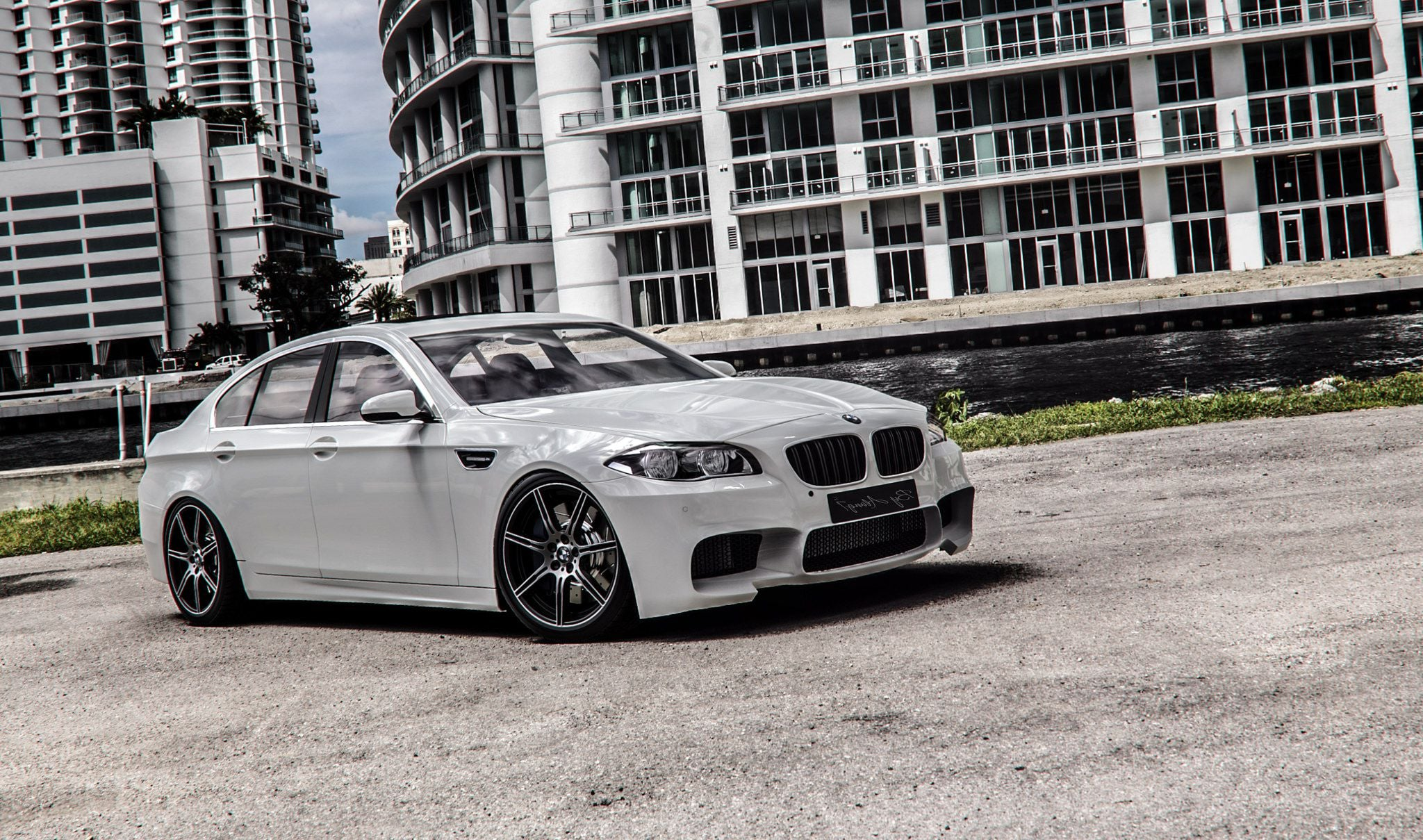 BMW M5 F10 tuned High Quality wallpapers