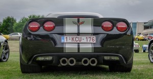 Back Chevrolet Corvette C6 Z06 wallpapers