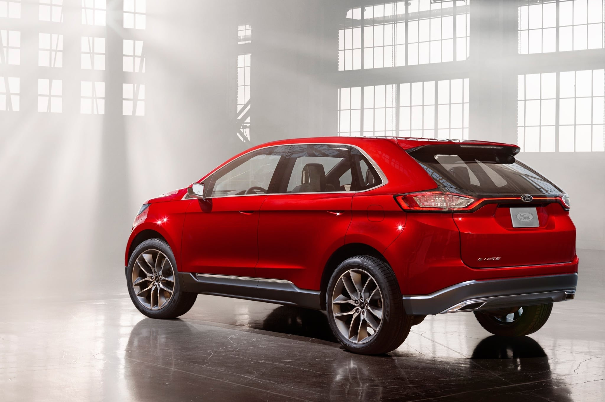 Back Ford Edge 2016 High Quality wallpapers