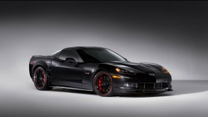 Black Chevrolet Corvette C6 Z06