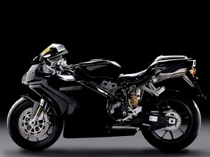 Black Ducati 999 HD wallpapers