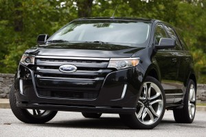 Black Ford Edge 2011 free download