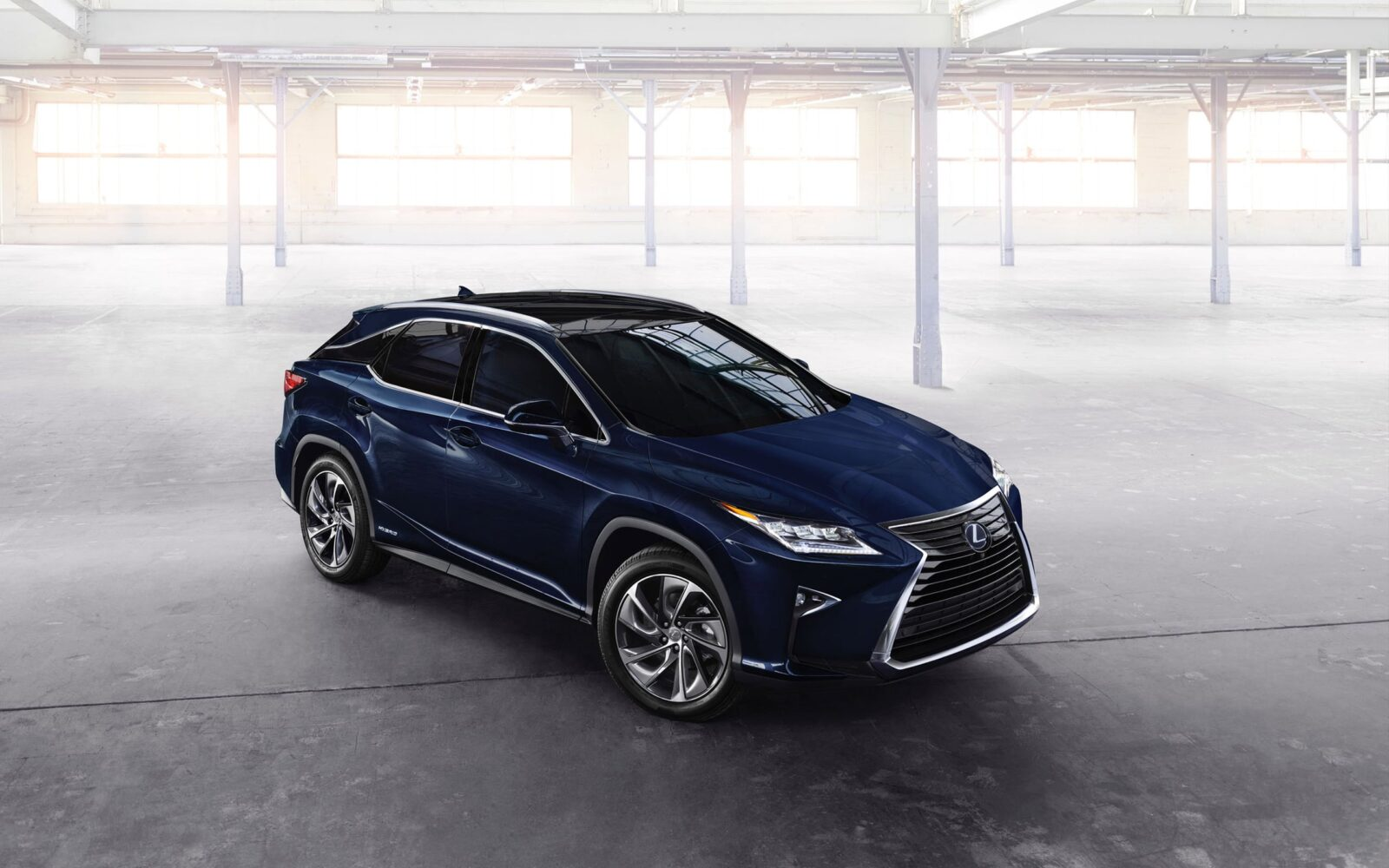 Blue Lexus RX 350 2016 wallpaper
