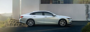 Chevrolet Malibu 2016 side HD