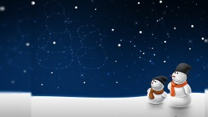 Christmas snowman new wallpapers