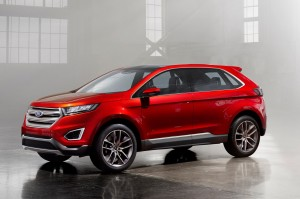 wallpaper of Cool Ford Edge 2016