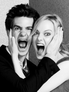 Crazy Emma Stone and Andrew Garfield High Resolution