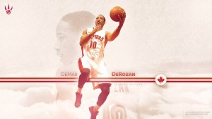 wallpaper of DeMar DeRozan