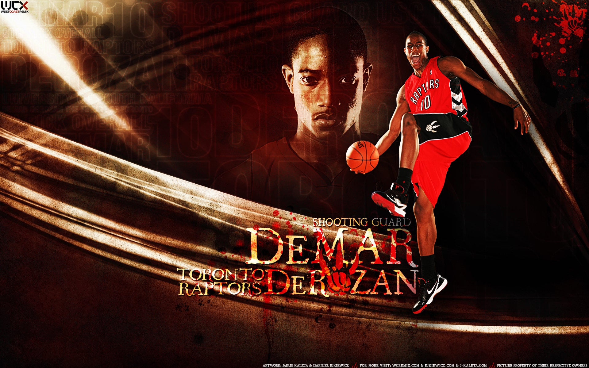 DeMar DeRozan widescreen