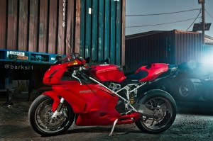 Ducati 999 background