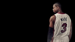 Dwyane Wade black background
