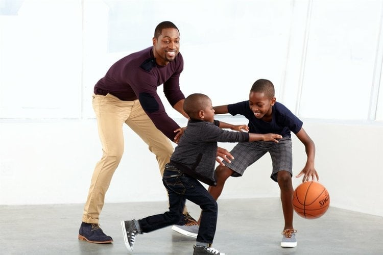 Dwyane Wade and his sons | HD Image #14