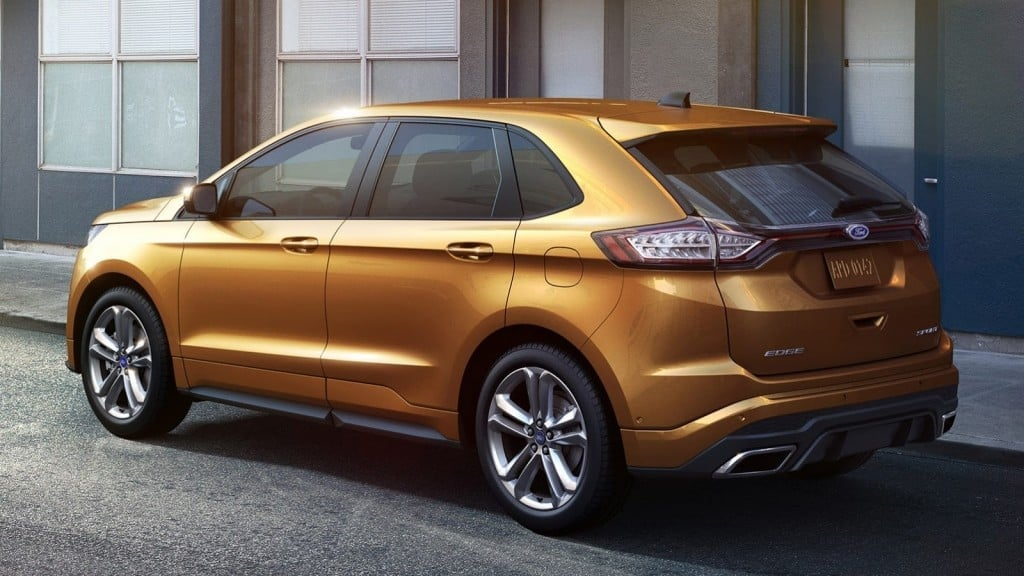 Ford Edge side view new wallpapers