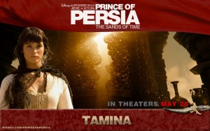 Gemma Arterton in Prince of Persia full HD image