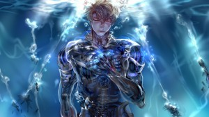 Image of Genos Demon Cyborg