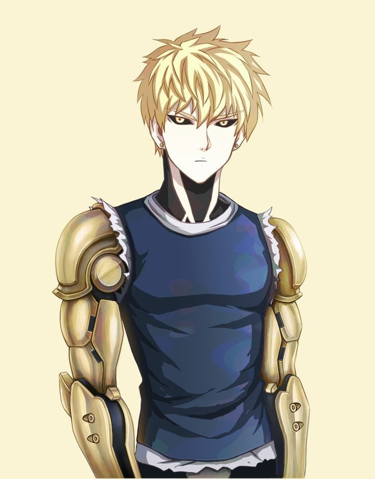 one punch man genos - photo #15