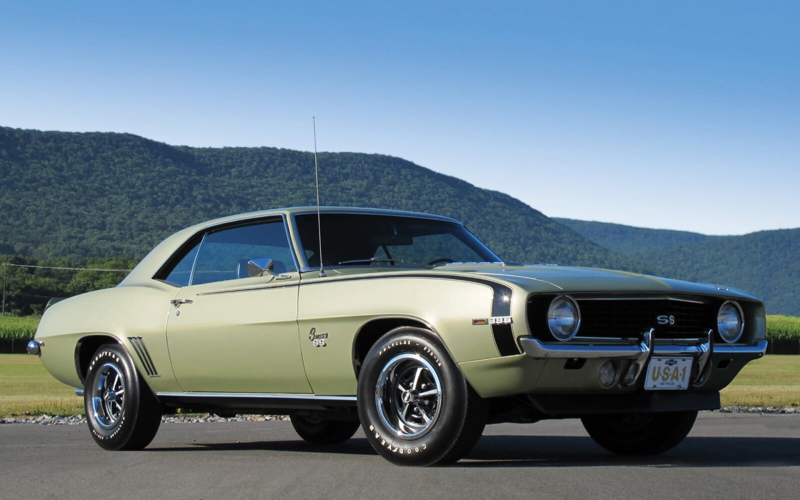 36+ Chevrolet Camaro SS 1969 wallpapers HD