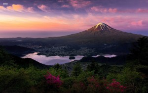 Japan mount Fuji widescreen