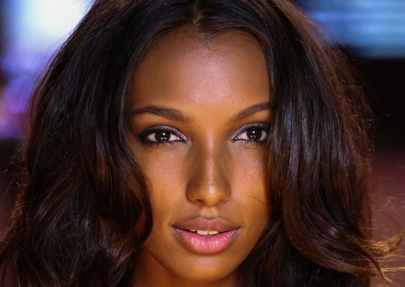 Jasmine Tookes face High Resolution wallpaper