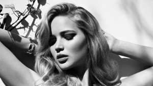 Best image of Jennifer Lawrence bw