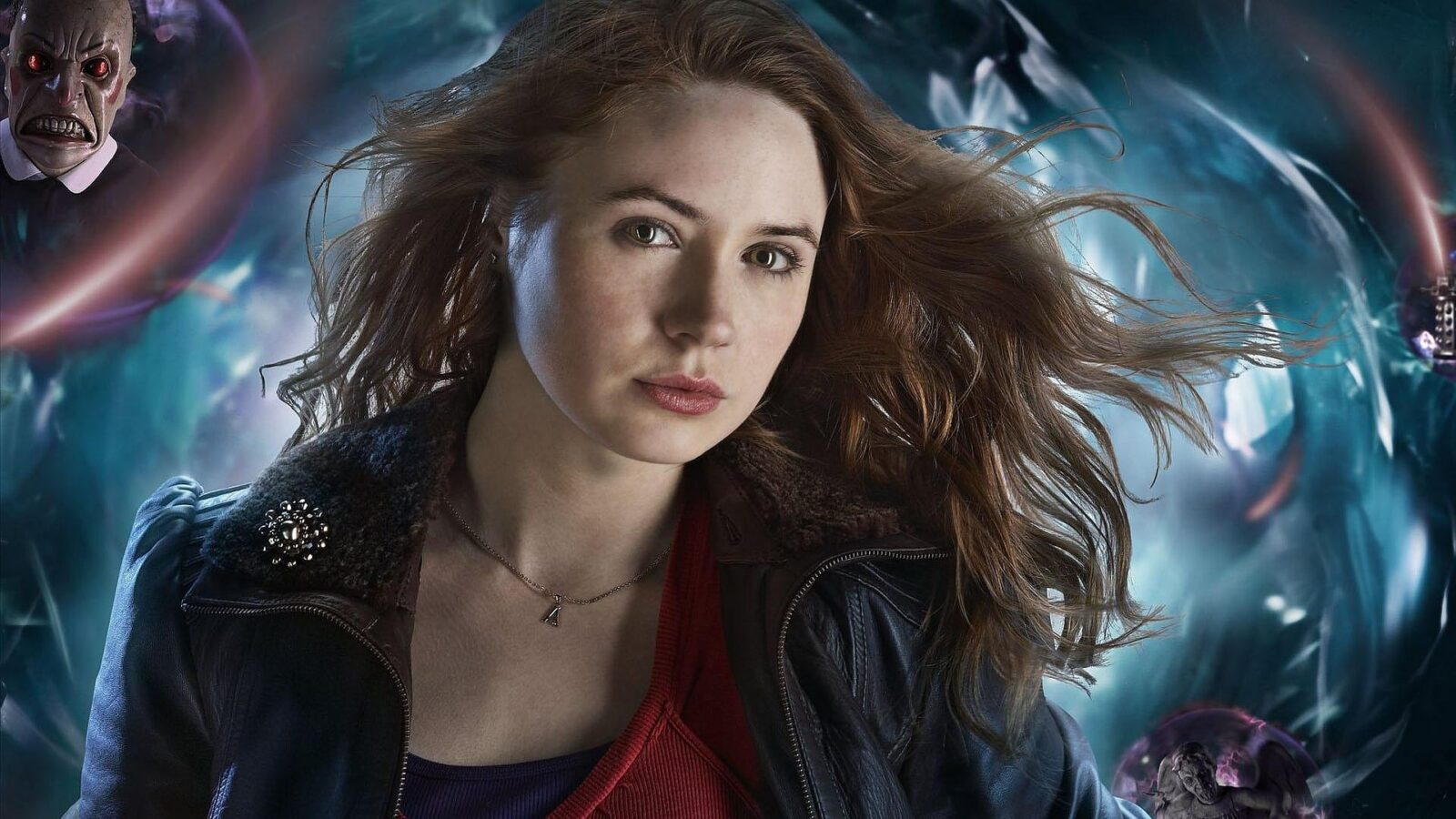 Karen Gillan art background