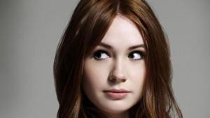Karen Gillan face full HD image