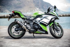 wallpaper of Kawasaki Ninja 300