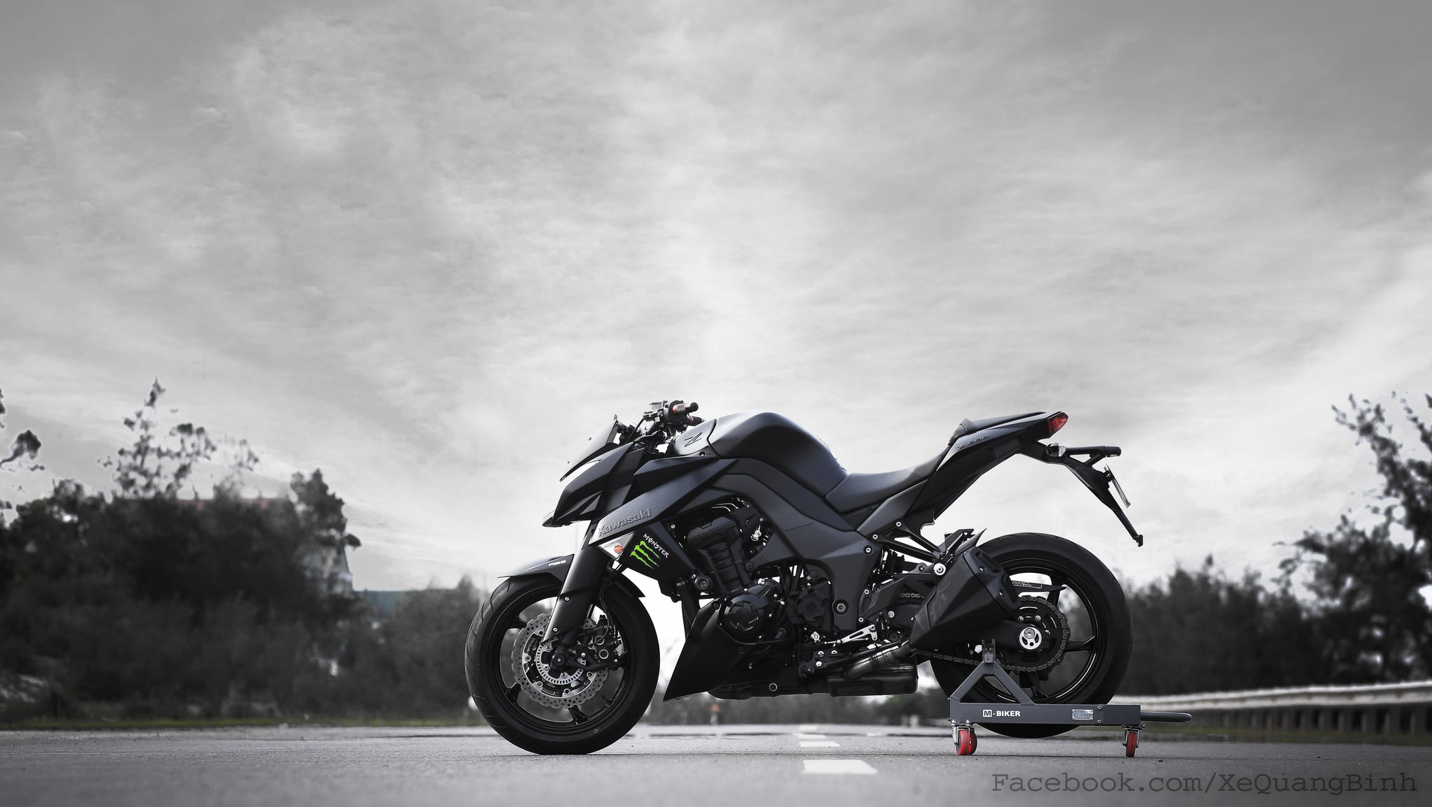 Kawasaki Z1000 High Definition