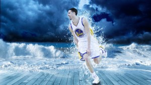 Klay Thompson art background