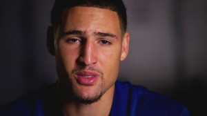 Serious face of Klay Thompson HD for desktop