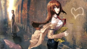 wallpaper of Kurisu Makise Steins Gate