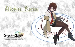 Kurisu Makise Steins Gate HD 1080p wallpaper