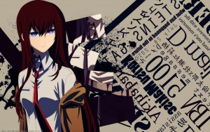 Kurisu Makise Steins Gate blue eyes widescreen