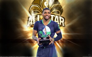 Basketball player Kyrie Irving wallpaper