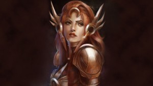 League of Legends Leona widescreen