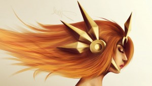 League of Legends Leona full HD image