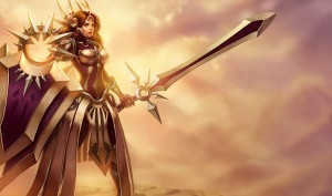 League of Legends Leona High Definition wallpaper