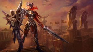 League of Legends Leona HD 1080p wallpaper