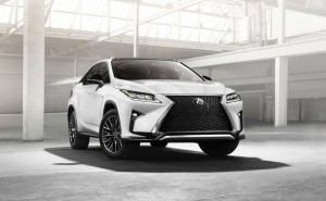 Lexus RX 350 2016 High Resolution