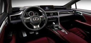 Lexus RX 350 2016 interior photo