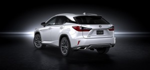 wallpaper of Lexus RX 350 F Sport 2016