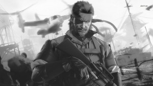 Metal Gear Solid 5 The Phantom Pain bw