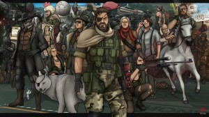 Metal Gear Solid 5 The Phantom Pain art